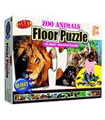 Zoo Animals Floor Puzzle Floor Puzzle Product Image