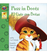 Puss in Boots Bilingual Storybook Product Image