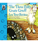 The Three Billy Goats Gruff Bilingual Storybook Product Image