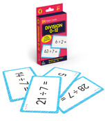 Division 0 to 12 Flash Cards Product Image