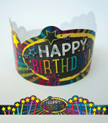 Twinkle Twinkle You're A STAR! Birthday Crowns Product Image