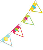School Pop Bunting Product Image