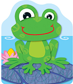 FUNky Frog Bookmarks Product Image