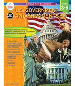 U.S. Government and Presidents Resource Book Product Image