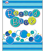 Bubbly Blues Record Book Product Image