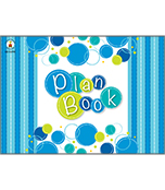 Bubbly Blues Plan Book Product Image