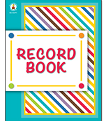 Color Me Bright Record Book Product Image