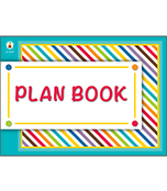 Color Me Bright Plan Book Product Image