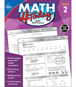 Math 4 Today Workbook Product Image