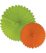 Orange and Lime Fans Dimensional Accent Product Image