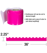Hot Pink Scalloped Borders Product Image