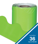 Lime Scalloped Borders Product Image