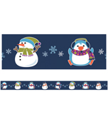 Winter Fun Straight Borders Product Image