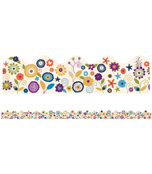 You-Nique Flowers Scalloped Borders Product Image