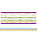 You-Nique Dots & Stripes Straight Borders Product Image
