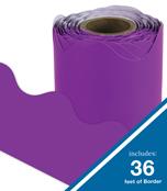 Purple Scalloped Borders Product Image
