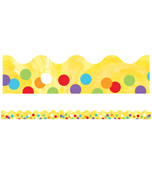 Confetti Scalloped Borders Product Image
