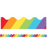 Big Rainbow Scalloped Borders Product Image