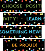 Think Positive Printable Border Set Product Image