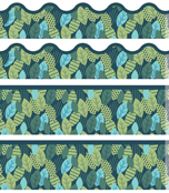 Leaves Printable Border Set Product Image