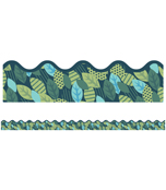 Leaves Scalloped Borders Product Image