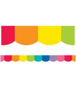 Hello Sunshine Rainbow Scalloped Borders Product Image