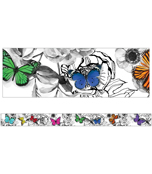 Butterflies Straight Borders Product Image