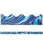 Blue Marble Scalloped Borders Product Image