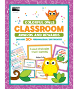Colorful Owls Classroom Printable Awards & Rewards Product Image