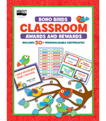 Boho Birds Classroom Printable Awards & Rewards Product Image