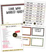 Aim High Classroom Printable Awards & Rewards Product Image