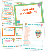 Up and Away Classroom Printable Awards & Rewards Product Image
