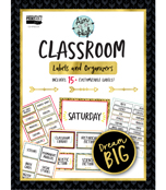 Aim High Classroom Printable Labels & Organizers Product Image