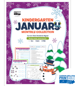 January Monthly Printable Collection Product Image