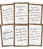 Industrial Chic Shiplap Inspirational Printable Chart Set Product Image