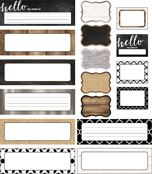 Industrial Chic Printable Classroom Collection Product Image