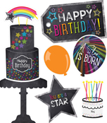 Twinkle Twinkle You're A STAR! Birthday Printable Bulletin Board Set Product Image