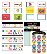 Just Teach Rainbow Printable Classroom Collection Product Image