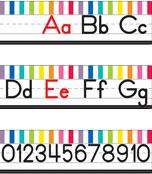Just Teach Manuscript Alphabet Line Printable Bulletin Board Set Product Image