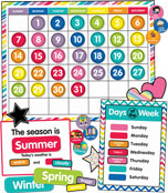 Just Teach Calendar Printable Bulletin Board Set Product Image