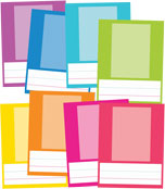 Just Teach NEON Large Printable Photo Cards Product Image
