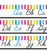 Just Teach NEON Cursive Alphabet Line Printable Bulletin Board Set Product Image