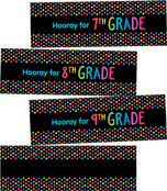Just Teach NEON Hooray! Printable Chart Set Product Image
