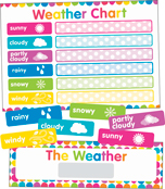 Just Teach NEON Weather Printable Chart Product Image
