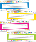 Just Teach NEON Early Childhood Printable Nameplates Product Image