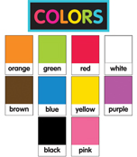 Just Teach NEON Color Pantone  Printable Cut-Outs Product Image