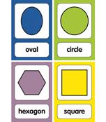 Just Teach Shape Printable Bulletin Board Set Product Image