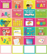 Just Teach Center Cards Labels & Organizers Product Image