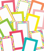 Pina Colada Pineapple Printable Labels & Organizers Product Image