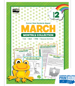 March Monthly Printable Collection Product Image